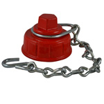 HCC-73 Hydrant Caps with Chain and Ring