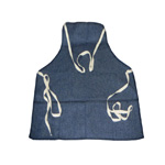 Chicago Protective 2426-BD Blue Denim Bib Style Carpenter's Apron