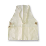 Chicago Protective 2426-FRD Natural FR Duck Bib Style Carpenter's Ap