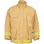 Lakeland DCCTD Dual Certified Coat Wildland Extrication Gold