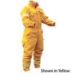 PGI 6501872 Fireline Smokechaser Deluxe Jumpsuits Ultra Soft Yellow
