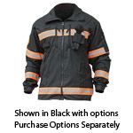 PGI 5815998 Fireline Multi Mission Tactical Jackets Nomex Black