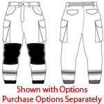 PGI 7805972 Fireline Multi Mission Pant Nomex Yellow