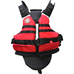 FirstWatch SWV-100-RB Rescue Swimming Vests Red and Black