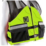 FirstWatch AV-500 Crew Vests Hi-Vis Yellow