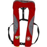 FirstWatch FW-240M-RG 24g Inflatable Vests Manual Red and Grey