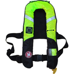 FirstWatch FW-38ProA-HV Pro 38g Inflatable Vests Hi Vis Automatic