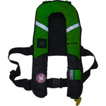 FirstWatch FW38-ProA-G Pro 38g Inflatable Vests Green Automatic