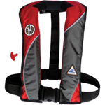 FirstWatch AI-150HA-RG Inflatable Vests Red and Grey