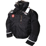 FirstWatch AB-1100PRO-B Pro Flotation Bomber Jackets Black
