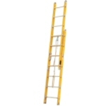 Fiberglass 3 Section Extension Fire Ladders FEL3 AlcoLite