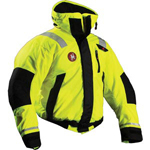 FirstWatch AB-1100-HV Flotation Bomber Jackets Hi Vis