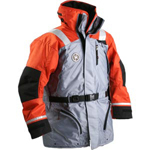 FirstWatch AC-1100-G Flotation Coats Orange and Grey
