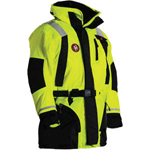 FirstWatch AC-1100-HV Flotation Coats Hi-Vis Yellow and Black