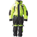 FirstWatch AS-1100-HV Flotation Suits Hi-Vis Yellow and Black