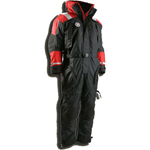 FirstWatch AS-1100-XXXL Flotation Suits Black and Red Non-Approved