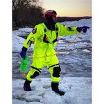 FirstWatch RS-1000 Ice Rescue Suits Hi Vis Yellow