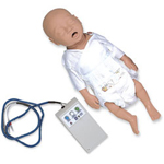 Simulaids 100-1203 CPR Preemie With Electronic Console Box With Carr