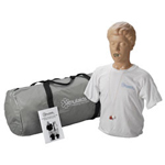 Simulaids 100-1602 Adult Choking Manikin With Carry Bag