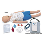 Simulaids 100-1702 CPR Timmy With Electronic Console Box And Carry B