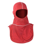 Majestic NFPA Hood PAC II-3PLY, Nomex Blend, Red