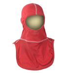 Majestic NFPA Hood PAC II-3PLY, P84, Red outer / Yellow inner