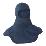 Majestic NFPA Hood PAC III, Nomex Blend, Navy Blue Heather