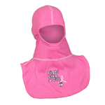 Majestic Fight Like a Girl Pink NFPA Hood PAC II