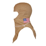 Majestic American Flag on PBI Gold NFPA Hood PAC II