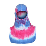 Majestic Tie Dye Pink and Blue NFPA Hood PAC II