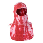 Majestic Tie Dye Red and White NFPA Hood PAC II