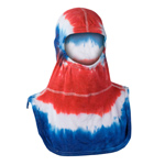 Majestic Tie Dye Red, White, and Blue NFPA Hood PAC II