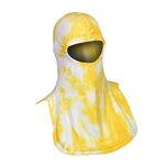 Majestic Tie Dye Yellow and White NFPA Hood PAC II