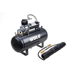 Wolo 860 System AIR RAGE Heavy-Duty Compressor & 5-Gallon Tank