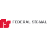 Federal Signal 305104SSG 1UP,POLY MNTG BOX,OVAL