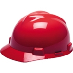 MSA V-Gard Caps Red 463947 Small, Standard, Large Sizes