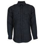 Topps Apparel SH95-5505 Long Sleeve Public Safety Shirt - Navy