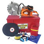Standard Rescue Saw Kit K12FD94 Husqvarna Team