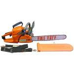 "Fire Hooks Fire Tuff ChainSaws with 18"" Bar"
