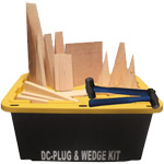 MARPW105 Damage Control Wood Plug and Wedge Kits
