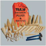 Marine 61 Wood Plug and Wedge Kit Team