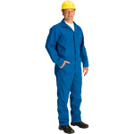 Topps CO07-5515 Unlined FR Coveralls 4.5 oz Nomex Royal Blue