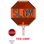 Star TCS-1REF LED Stop/Slow Traffic Control Signs with Reflective Tape