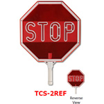 Star TCS-2REF LED Stop/Stop Traffic Control Signs with Reflective Tape