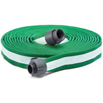 "ATI 53H175HDG100N Armtex HP Fire Hose, 1-3/4"" Dia, 100 ft, Dark green with white stripe, NST"
