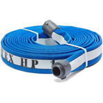 "ATI 53H175HDB50N Armtex HP Fire Hose, 1-3/4"" Dia, 50 ft, Blue with white stripe, NST"