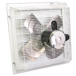 "Schaefer SFT-2000A 20"" Direct Drive Shutter Style Exhaust Fan, Aluminum Shutter 1 PK"