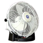 "Schaefer VersaMist PVM18LC Portable Misting Fan with White 18"" 3-Speed Fan, without Tank 1 PK"