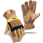 Pro-Tech 8 TPR Gold Structural Gloves PT8-TPRG NFPA