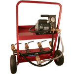 Fire Hose Testers Electric 4 Outlets no Pressure Washer